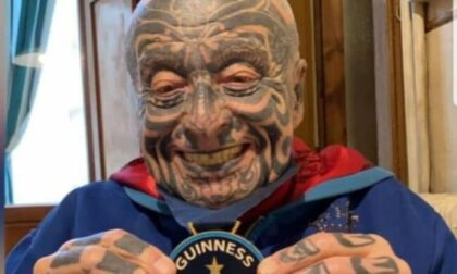 E' morto Angelo Piovano, l'uomo più tatuato d'Italia