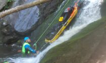 Nuovi tecnici del soccorso alpino specializzati in operazioni nei torrenti e gole impervie