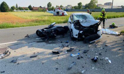 Schianto mortale a Leini, muore motociclista