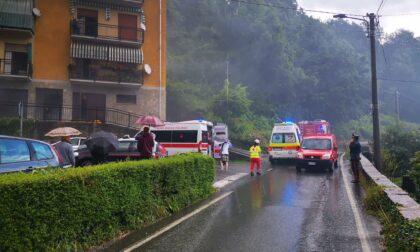 Incendio nelle cantine di un palazzo a Pont Canavese, quattro intossicati