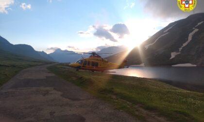 Si perde sul Nivolet, intervento del Soccorso Alpino