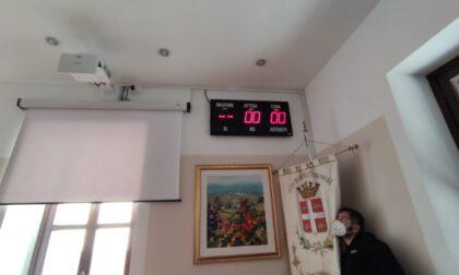 Nuova sala consiliare a palazzo Mosca