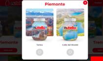 """Lago Sirio e Colle del Nivolet sui barattoli Nutella di """"Ti amo Italia"""""""