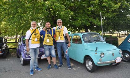Fiat 500 protagoniste di un bel raduno a Fiano