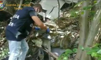 A Leini deposito incontrollato di rifiuti pericolosi: 70 tonnellate di materiale di scarto in un'area boschiva