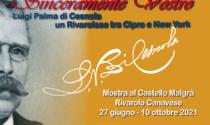 Riapre il castello Malgrà con una mostra dedicata a Palma di Cesnola