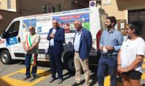 """Consegnato alla Caritas di Volpiano il furgone di """"Solidarietà in movimento"""""""