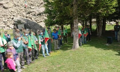 Gli Alpini della Settima Zona al Pian della Mussa
