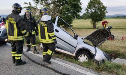 Auto finisce fuoristrada a Ciconio: ferita una donna di Bosconero