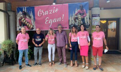 Egan Bernal il messaggio del giovane vincitore  del «Giro d'Italia» al Canavese sua seconda casa