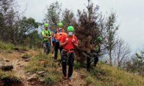 Escursionista cade lungo il sentiero  poco a monte del Santuario di Sant'Abaco