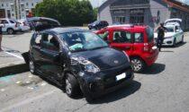 Incidente a Rivarolo, due auto coinvolte