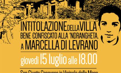La villa confiscata a Nicola Assisi intitolata a Marcella di Levrano