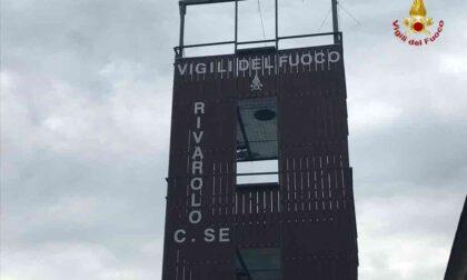 I Vigili del fuoco di Rivarolo inaugurano il nuovo castello di manovra