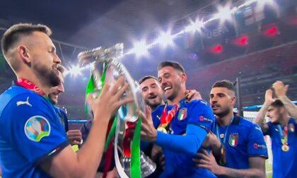 Italia campione d'Europa, caroselli in tutto il Canavese FOTO e VIDEO