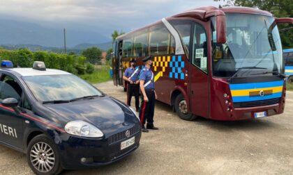 Castellamonte: denunciati dai Carabinieri gli aggressori dell'autista di bus di linea
