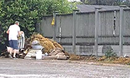 Individuati i responsabili di abbandoni di rifiuti e atti vandalici