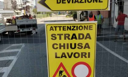 """In via Lanzo iniziati i """"super lavori"""""""