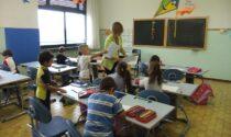 I banchi scolastici donati al Cottolengo