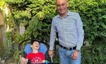 Anche il consigliere Andrea Cane sostiene la causa del piccolo Gioele