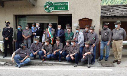 Gli Alpini di Lemie festeggiano i 90 anni del gruppo