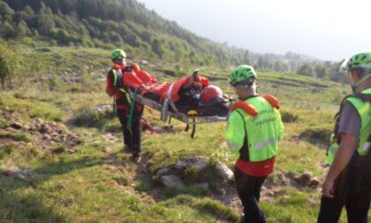 Escursionista infortunata sul Mombarone: in aiuto il Soccorso Alpino di Ivrea