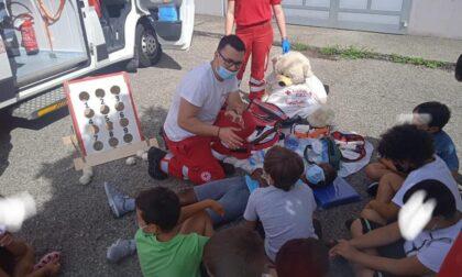 Ambulanza senza paura: un successo il progetto della CRI di Castellamonte
