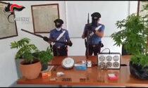Giovane arrestato a San Francesco al Campo per spaccio e detenzione illegale di armi