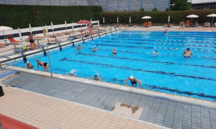 Nuova gestione alla piscina alla Rari Nantes