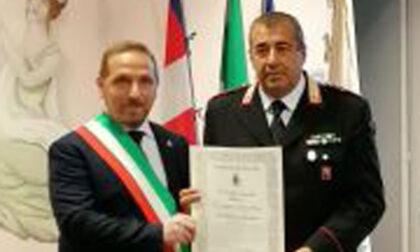 Il comune di Favria insignisce il luogotenente Ignazio Mamino della cittadinanza onoraria