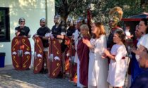 Cercansi legionari romani a Ivrea