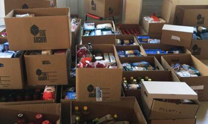 A Volpiano distribuzione dei pacchi alimentari per famiglie in difficoltà