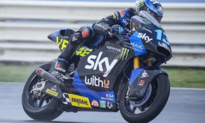 Vietti Ramus sotto la pioggia del Gran Premio di San Marino