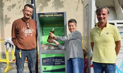 Contenitori raccolta oli vegetali esausti ad Oglianico