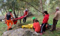 Cercatore di funghi soccorso oggi al Pian del Lupo