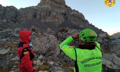 Due alpinisti bloccati sul Brec de Chambeyron: recuperati all'alba