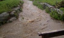 Rischio esondazione per il Rio Peschiera
