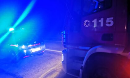 Auto esce di strada a San Benigno, una persona ferita