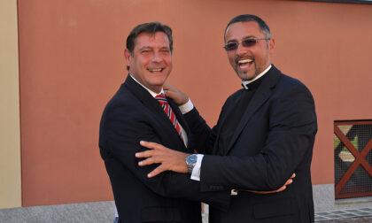 Festa d'addio a Borgaro per don Stefano Turi