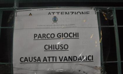 """""""Parco giochi chiuso causa atti vandalici"""""""