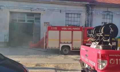 Terzo incendio in pochi giorni all'ex Vallesusa di Rivarolo